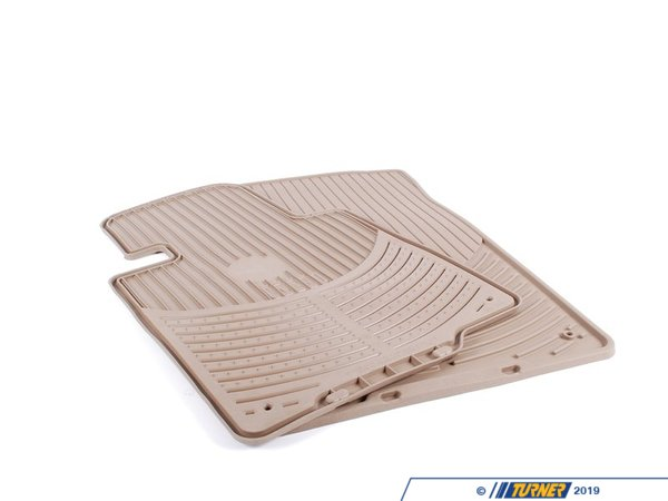 T#109896 - 51470151506 - Genuine BMW Set Rubber Mats Front Beige E46 Cabri - 51470151506 - E46 - Genuine BMW -