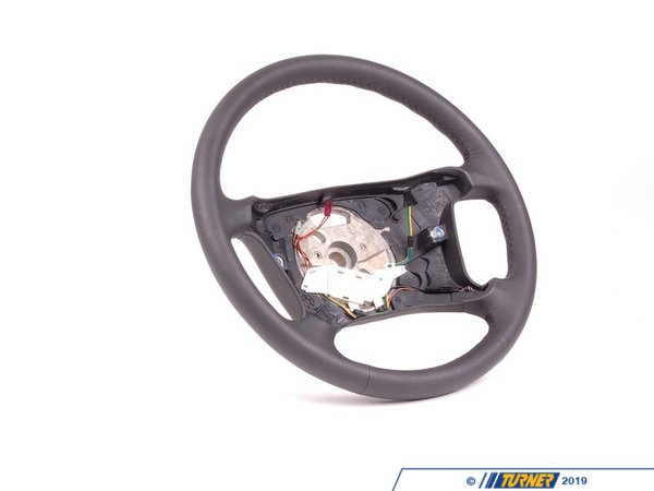 T#57548 - 32346753739 - Genuine BMW Leather Steering Wheel D=385mm - 32346753739 - E39 - Genuine BMW -
