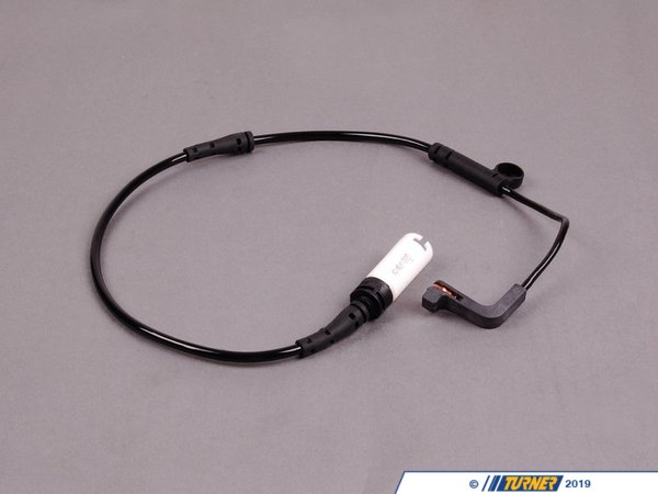 T#3263 - 34356789492 - URO Brake Pad Wear Sensor - Front - E60 E63 - Replacement pad wear sensor, typically replaced when changing brake pads. If your brake lining warning is activated, the sensor will need to be replaced.BMW E60 E61 E63 E64 Front Brake Pad Sensor. Only one required for front.This item fits the following BMWs:2004-2010  E60 BMW 525i 525xi 530i 530xi 528i 528xi 528i xDrive 535i 535xi 535i xDrive 545i 550i2004+  E63 BMW 645ci 650iLeft Front Pad Sensor2006-2010  E60 BMW M52006-2010  E63 BMW M6The E60 M5 and E63 M5 use a sensor for both front wheels.Click for M5, M6 Right Front Sensor - URO - BMW