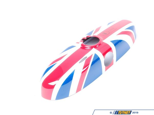 T#23670 - 51160412519 - Genuine MINI Cover, Interior Rear-View Mirror Union Jack - 51160412519 - Genuine Mini -