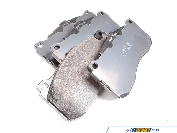 T#11997 - 34116786044 - Genuine BMW Front Brake Pads - E82 135i  - Genuine BMW - BMW