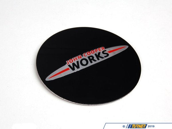 T#67489 - 36136786764 - Genuine MINI J.cooper Works Plaque With A - 36136786764 - Genuine Mini -