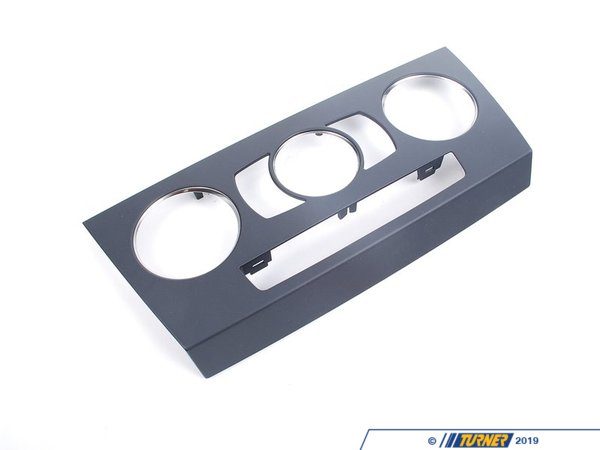 T#13880 - 51459137564 - Genuine BMW Trim Front Plate Of Controls Air 51459137564 - Genuine BMW -