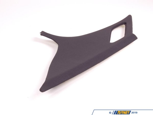 T#102396 - 51432491496 - Genuine BMW Trim Panel Column, Rear Righ - 51432491496 - Anthrazit - Genuine BMW -