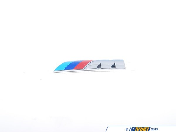 T#8869 - 51147892003 - Genuine BMW Emblem Front -M- - 51147892003 - Genuine BMW -