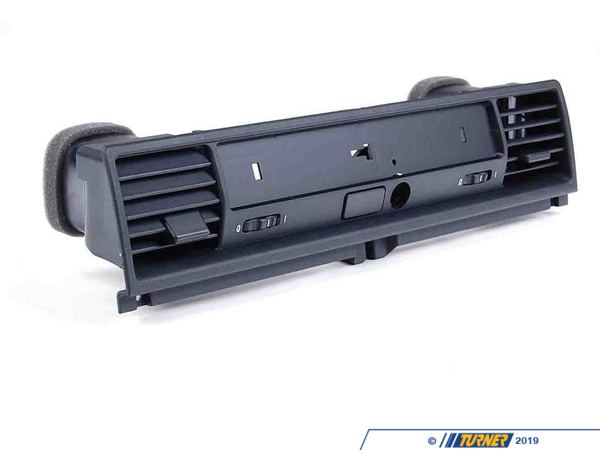 T#14125 - 64228183040 - Glovebox Cover with Lock and Grill - Black - E36 1994-1999 - Genuine BMW - BMW