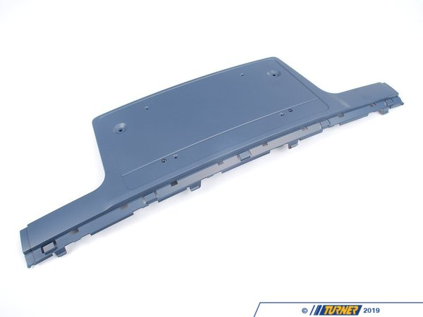 T#76041 - 51117043451 - Genuine BMW Licence Plate Base Primed Chromline - 51117043451 - E65 - Genuine BMW -