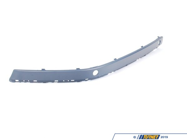 T#76050 - 51117043461 - Genuine BMW Bumper Guard, Primed, Front Left Pdc - 51117043461 - E65 - Genuine BMW -