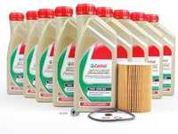 T#555791 - E6XMTWSKT - Castrol TWS Oil 10w-60 Oil Service Kit - E6X M5 M6 - Packaged by Turner - BMW