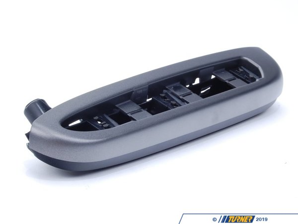 T#104237 - 51437904361 - Genuine BMW Armrest, Titan Rear Left Schwarz - 51437904361 - E46 - Genuine BMW -