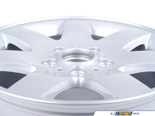 T#8180 - 36111094498 - Genuine BMW Light Alloy Rim 7Jx16 Et:47 - 36111094498 - E46 - Genuine BMW -