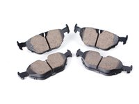 Akebono Rear Euro Ceramic Brake Pad Set -- E39