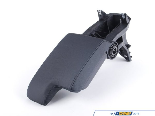 T#86009 - 51168213628 - Genuine BMW Armrest Leather Schwarz - 51168213628 - E46 - Genuine BMW -
