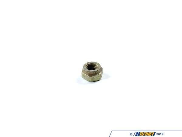 T#6518 - 07129922716 - Genuine BMW Self-Locking Hex Nut - 07129922716 - E30,E34,E36,E38 - Genuine BMW -
