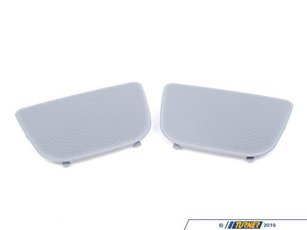 T#109713 - 51468230769 - Genuine BMW Cover Loudspeaker Grau - 51468230769 - E39,E39 M5 - Genuine BMW -
