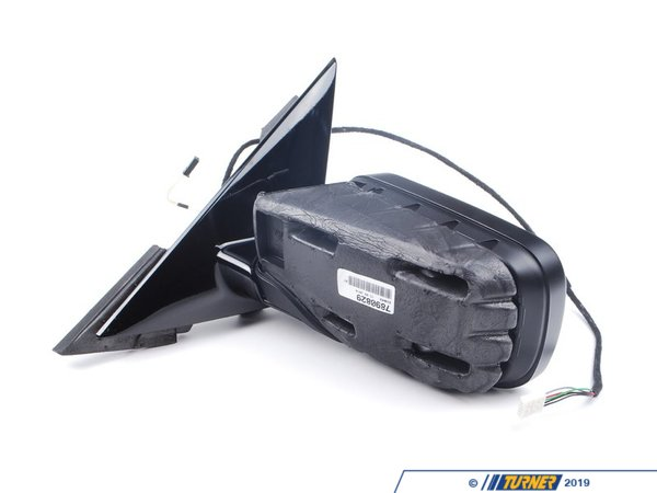 T#84577 - 51167890829 - Genuine BMW Heated Outside Mirror, Left - 51167890829 - Gloss Black - Genuine BMW -