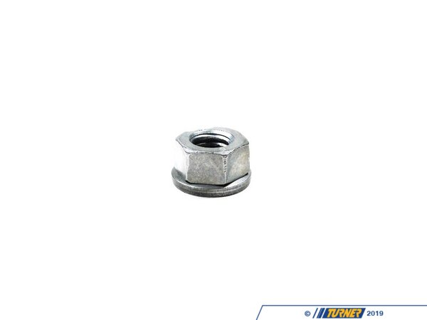 T#6509 - 07129904553 - Genuine BMW Hex Nut With Plate 07129904553 - Genuine BMW -