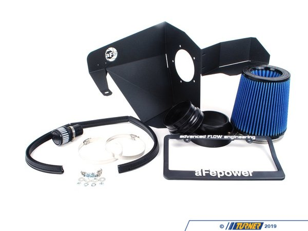"T#1373 - 54-10681 - aFe Magnum FORCE Stage-1 Pro 5R Cold Air Intake System - E53 X5 4.4i, 4.8is 00-06 - MaximumFlow Pro5R FilterThis intake kit replaces your restrictive factory air box. It features a 3-angle velocity stack adapter, 1.6mm powder-coated steel heat shield, trim sealed to seal out hot engine air, and a custom aFe brand cotton filter.This version uses aFe's highest flowing filter media, which uses a lightly oil gauze to filter out dirt and particulates, while allowing more air to flow to the intake. For the best flowing filter, with the best performance gain, we always recommend this standard aFe filter media (often called ""Pro5R "", which has a blue pre-oiled filter media). We also carry this filter in the ""ProDry"" grey filter media, which is oil-free for only slightly less performance and no maintenance.By removing your stock intake air box, you are removing the most restrictive portion of your X5's intake system, increasing both horse power and torque, improving acceleration as well as throttle response.Clickhere for installation instructions.This item fits the following BMWs:2000-2006  E53 BMW X5 4.4i X5 4.8is - AFE - BMW"