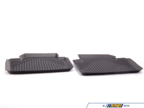 T#25496 - 82112317869 - Genuine BMW All Weather Floor Liners, Re - 82112317869 - Genuine BMW -