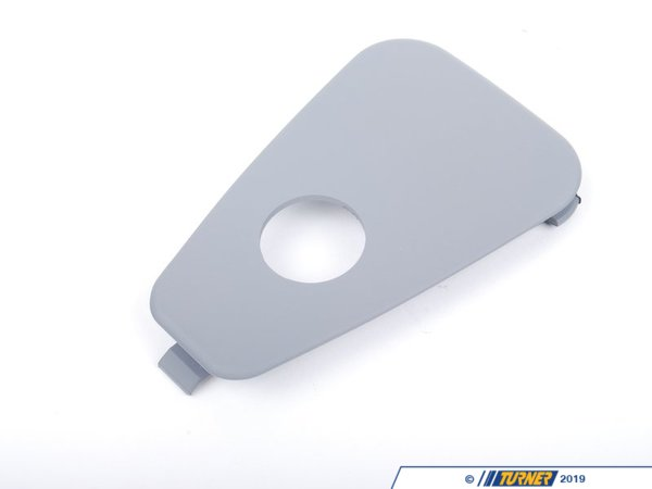 T#109710 - 51468227689 - Genuine BMW Cover F Child Seat Fixing Grau - 51468227689 - E39 - Genuine BMW -