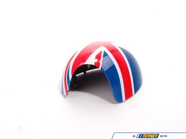 T#81426 - 51160415075 - Genuine MINI Cover, Mirror, Left Union Jack - 51160415075 - Genuine MINI -