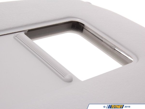 T#86379 - 51168258010 - Genuine BMW Right Sun Visor Make-Up Lamp Hellgrau - 51168258010 - E53 - Genuine BMW -