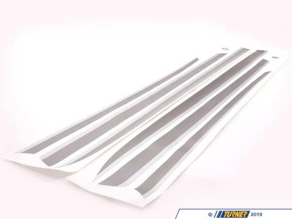 T#5111 - 51140442627 - BMW Performance Stripes - E82 - Customize your BMW with these head-turning Performance Stripes. - Genuine BMW M Performance -