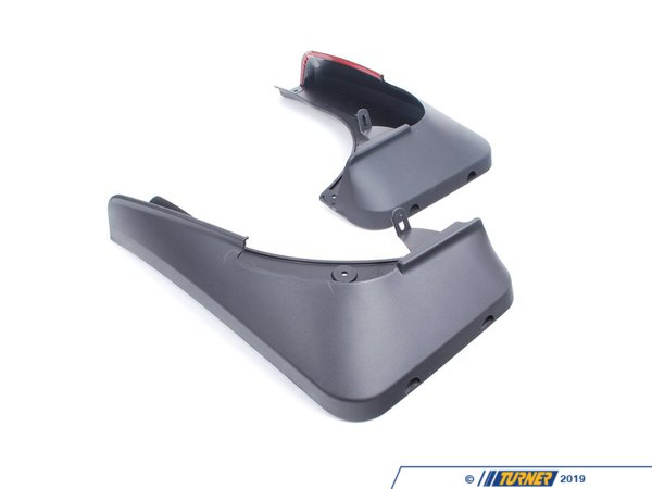 "T#11433 - 82160416160 - Genuine BMW Set Mud Flaps, Front E70 X5 18""+19"" - 82160416160 - E70 X5 - Genuine BMW -"