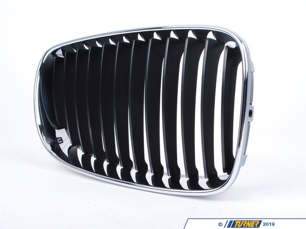 T#23569 - 51137166440 - Genuine BMW Grille W Chrome Frame, Right - 51137166440 - E82 - Genuine BMW -