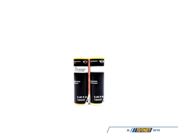 T#120592 - 51910419884 - Genuine MINI Paint Stick Astro Black Met. 2X12Ml  A25 - 51910419884 - Genuine MINI -