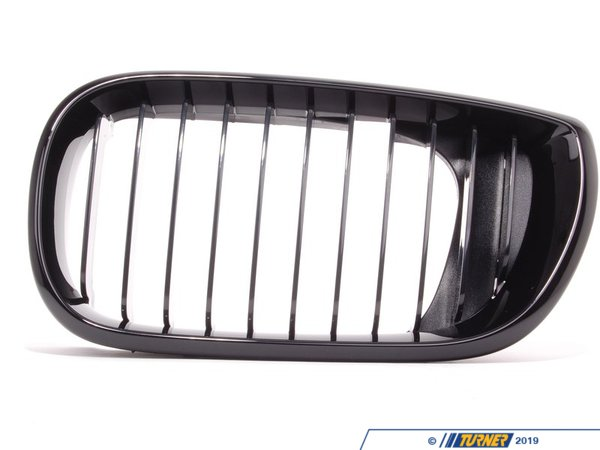 T#5084 - 51132158543 - BMW Performance Black Grill Left - E46 Sedan 2002+ - Genuine BMW -
