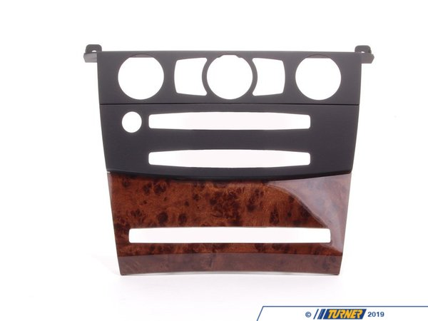 T#107014 - 51456951037 - Genuine BMW Cover, Dashboard, Poplar, Center Schwarz - 51456951037 - Genuine BMW -