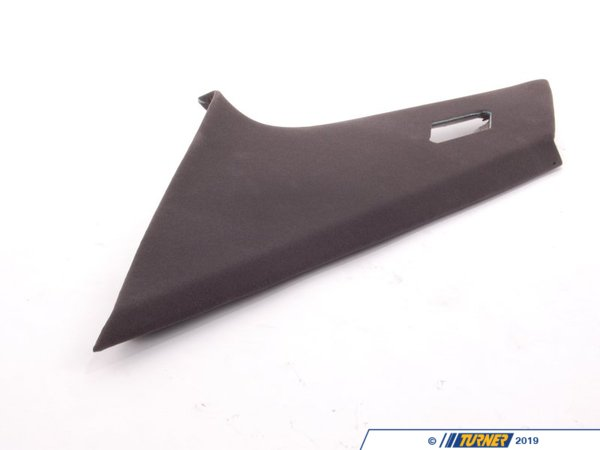 T#104540 - 51438152686 - Genuine BMW Covering Column Rear Right Schwarz - 51438152686 - Genuine BMW -