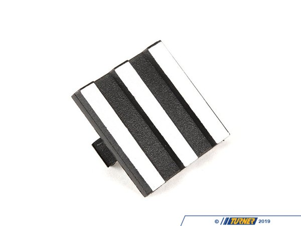T#2078 - 11121736007 - Valve Cover Trim Cap E32 E34 E38 E39 X5 with M60/M62 V8 engines - Missing that little square cap with 3 silver stripes in your valve cover? This valve cover trim cap often gets misplaced when working on the M60/M62 engine. This fits E32 740i 740il E34 530i 540i E38 740i 740il E39 540i X5 x5 4.4i X5 4.6is thru 2003When doing any sort of repair or maintenance there is no replacement for genuine factory parts. Turner Motorsport carries the Genuine BMW brand with pride and has the parts you need to complete your next project with confidence.This item fits the following BMWs:1992-1995  E34 BMW 530i 540i1997-2003  E39 BMW 540i1992-1994  E32 BMW 740i 740il1995-2001  E38 BMW 740i 740il1990-1998  E31 BMW 840i 840ci2000-2003  E53 BMW X5 4.4i X5 4.6is - Genuine BMW - BMW