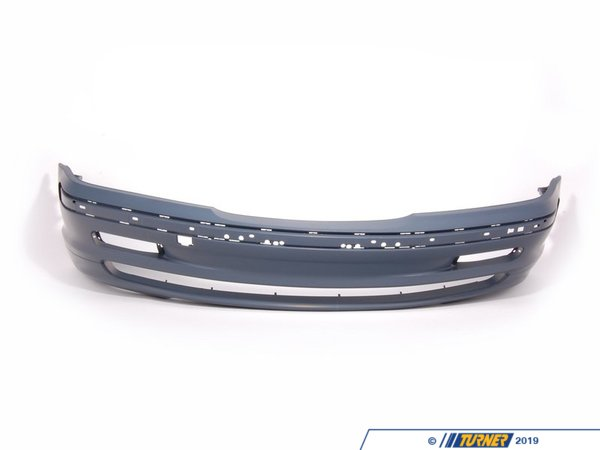 T#21878 - 51118195284 - Genuine BMW Trim Cover, Bumper, Primered, Front - 51118195284 - E46 - Genuine BMW -