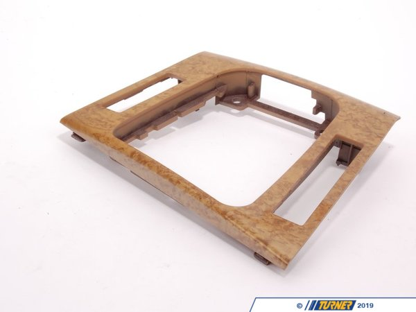 T#83227 - 51167052056 - Genuine BMW Bottom Panel Depositing Box Wood Birke - 51167052056 - E46 - Genuine BMW -