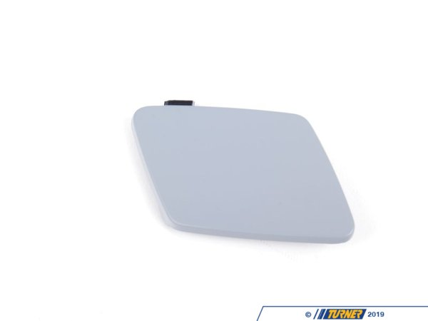 T#75668 - 51112147222 - BMW M Performance Tow Hook Cover - E90/91 (w/ M Performance Front Bumper) - Genuine BMW Cover For Tow Fitting, Bumper, Fr. - This item fits the following BMW Chassis:E90 - Genuine BMW - BMW