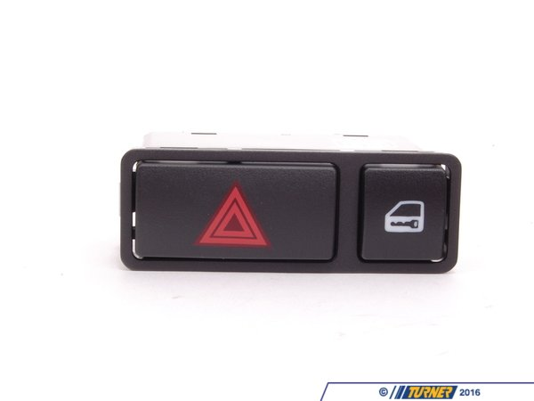 T#4667 - 61318368920 - Central Locking / Hazard Light Switch - E46 X5 Z4 - Febi - BMW