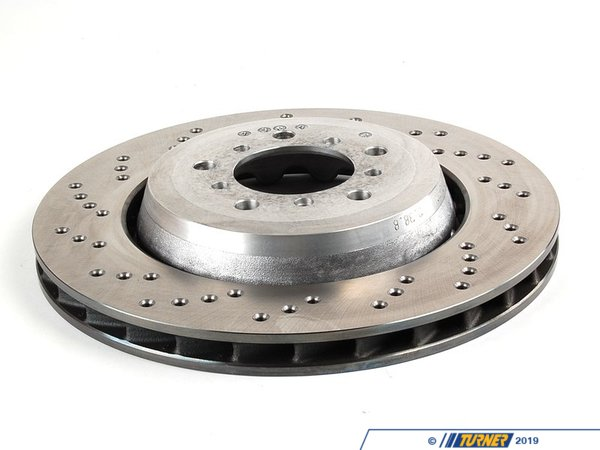 T#12530 - 34112282445 - Genuine BMW Brake Disc, Ventilated, Left 34112282445 - GENUINE BMW BRAKE DISC, VENTILATED, LEFT:341040.--This item fits the following BMWs:BMW M Series - M3 BMW Z Series - Z4 M Coupe, Z4 M Roadster--. - Genuine BMW -