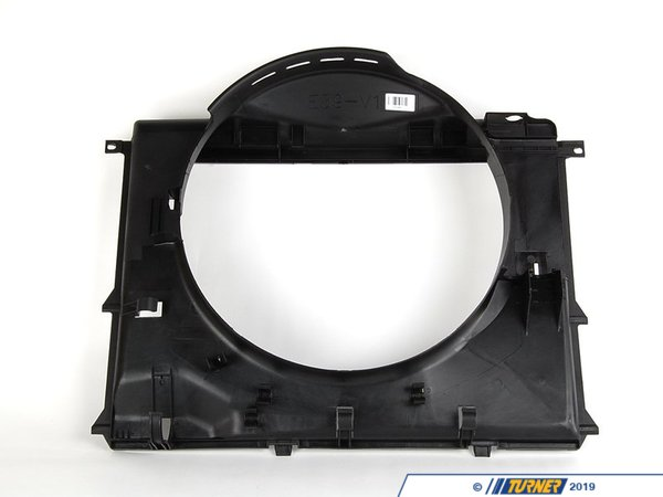 T#7391 - 17101438457 - Radiator Fan Shroud - E39 525i, 528i, 530i - This Genuine BMW radiator fan shroud channels air through the radiator to provide maximum cooling. A cracked or damaged fan shroud will reduce the cooling efficiency.When doing any sort of repair or maintenance there is no replacement for genuine factory parts. Turner Motorsport carries the Genuine BMW brand with pride and has the parts you need to complete your next project with confidence.This item fits the following BMWs:1997-2003  E39 BMW 525i 528i 530i - Genuine BMW - BMW