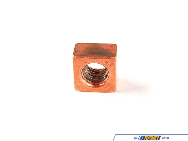 T#13033 - 11621741172 - Genuine BMW Engine Square Nut 11621741172 - Genuine BMW -