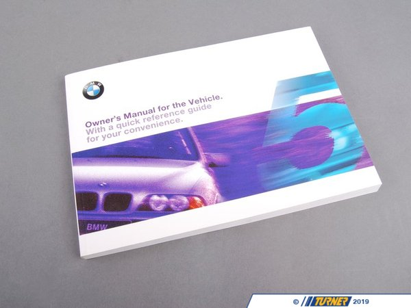 T#6303 - 01410155012 - Genuine BMW Owner's Handbook E39, E39/2 - 01410155012 - E39 - Genuine BMW -