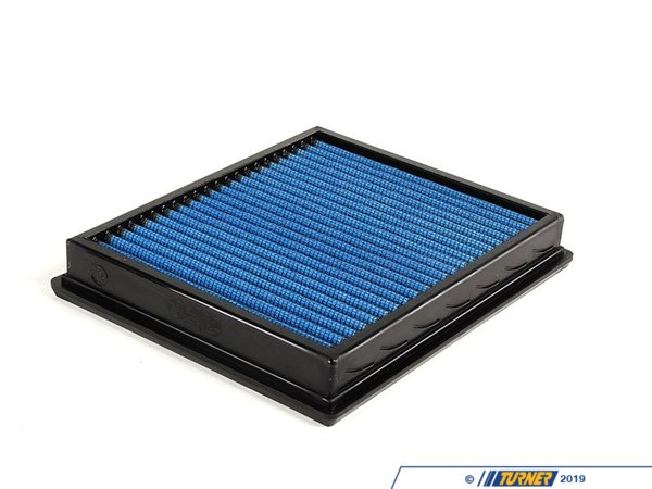 "T#109 - 30-10044 - aFe Pro5R Air Filter - E39 M5, 540, E34 530, 540, E38 740, X5 4.4 - This is a drop-in stock replacement aFe performance air filter that installs into your BMW's factory airbox. This particular filter fits the following BMWs:E39 5 series: 1997-2003 540iE39 M5, 2000-2003 (**requires 2 filters)E34 5 series: 1994-1995 530i & 540iE38 7 series: 1995-2001 740i & 740iLX5 4.4i 2001-2006 (E53 chassis)Z8 roadster 2000-2003 (**requires 2 filters)This version uses aFe's highest flowing filter media, which uses a lightly oil gauze to filter out dirt and particulates, while allowing more air to flow to the intake. For the best flowing filter, with the best performance gain, we always recommend this standard aFe filter media (often called ""Pro5R "", which has a blue pre-oiled filter media). We also carry this filter in the ""ProDry"" grey filter media, which is oil-free for only slightly less performance and no maintenance. - AFE - BMW"