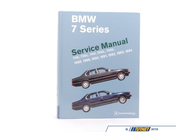 T#3785 - B794 - Bentley Service & Repair Manual - E32 BMW 7-series (1988-1994) - Bentley - BMW