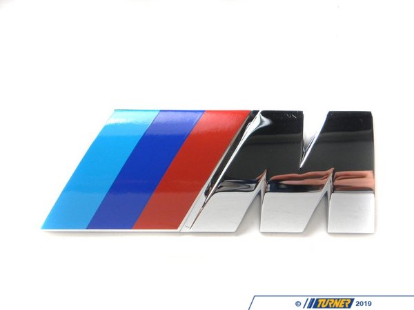 Genuine BMW Motorsport ///M Rear Emblem 51142694404