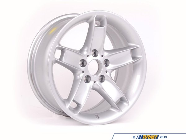 T#65358 - 36111095442 - Genuine BMW Light Alloy Rim 8Jx17 Et:20 - 36111095442 - E39 - Genuine BMW -