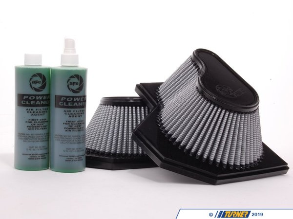 T#2645 - 31-80168 - aFe ProDry S Air Filter - E60 M5 E63/E64 M6 V10 (1 pair) - AFE - BMW