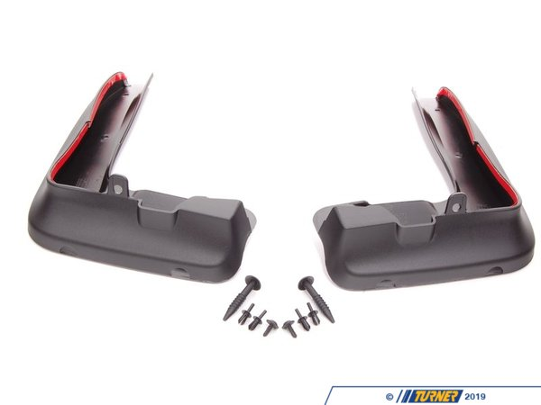 T#21447 - 82160404794 - Genuine BMW Set Mud Flaps, Front - 82160404794 - E90 - Genuine BMW -