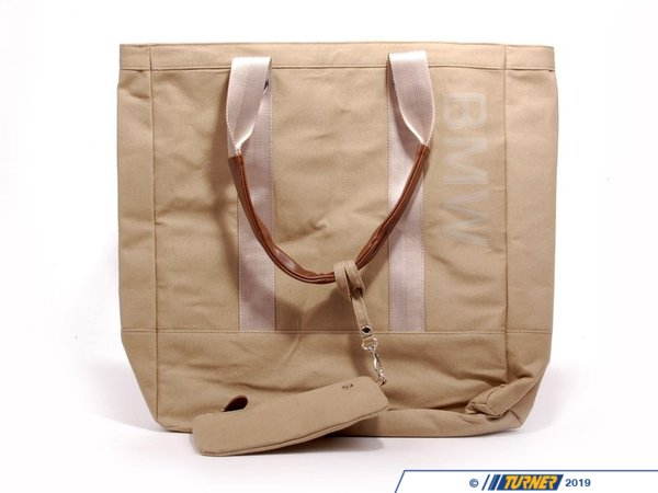 T#176744 - 80162298179 - Genuine BMW Shopper For Women Beige,One-Size - 80162298179 - Genuine BMW -