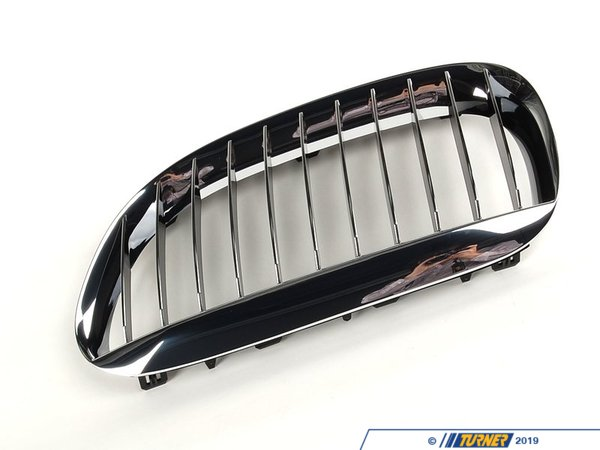 T#79889 - 51137077931 - Genuine BMW Grille Left Chrom - 51137077931 - E63,E63 M6 - Genuine BMW -